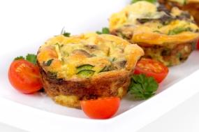 egg omelet muffin cup dinner
